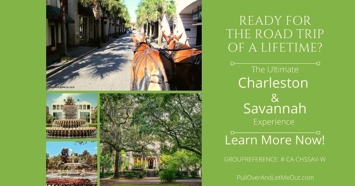 Copy of Ultimate Charleston & Savannah Experience PullOverAndLetMeOut
