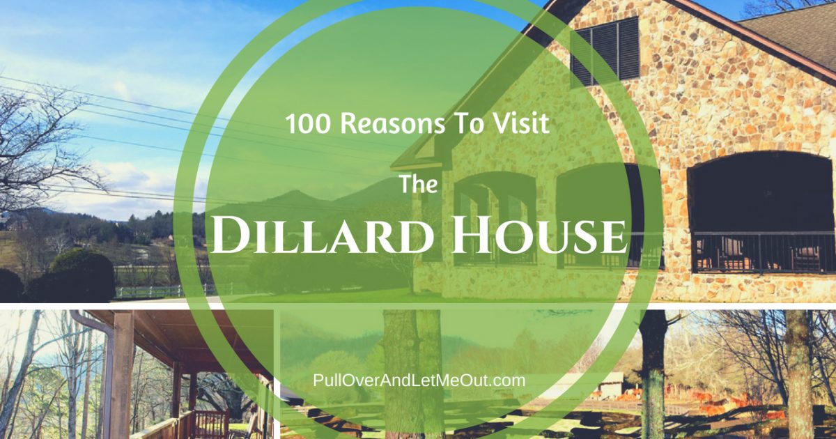 Dillard House PullOverAndLetMeOut