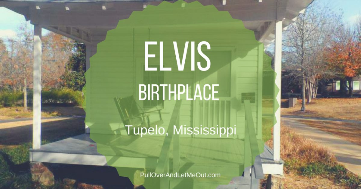 The Elvis Presley Birthplace in Tupelo, Mississippi is charming museum dedicated to preserving the birthplace of the King of Rock-n-Roll. #PullOverAndLetMeOut #Elvis #ElvisPresley #travel #Mississippi #Tupelo #Historic #kidfriendly #museum #music #rocknroll