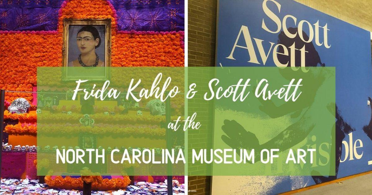 Frida Kahlo & Scott Avett at the NC Museum of Art PullOverAndLetMeOut