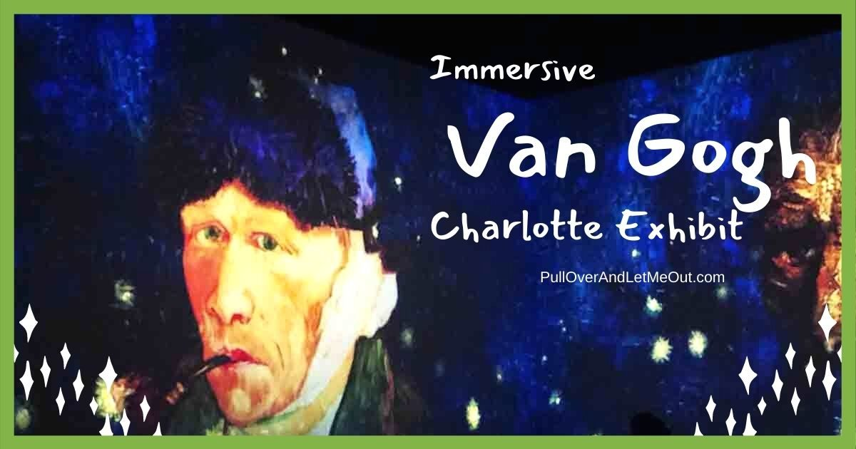 Immersive Van Gogh Charlotte Exhibit PullOverAndLetMeOut