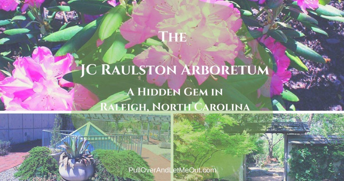 JC Raulston Arboretum cover PullOverAndLetMeOut