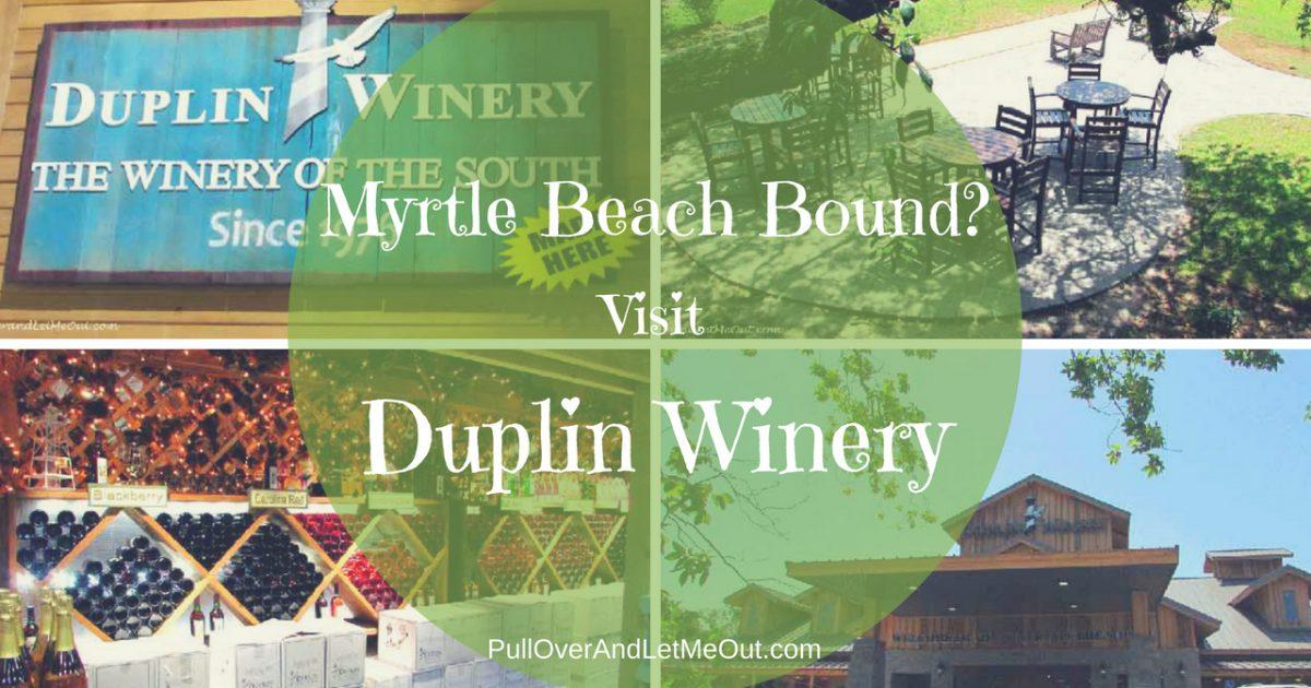 Myrtle Beach Bound_ Visit Duplin Winery PullOverAndLetMeOut