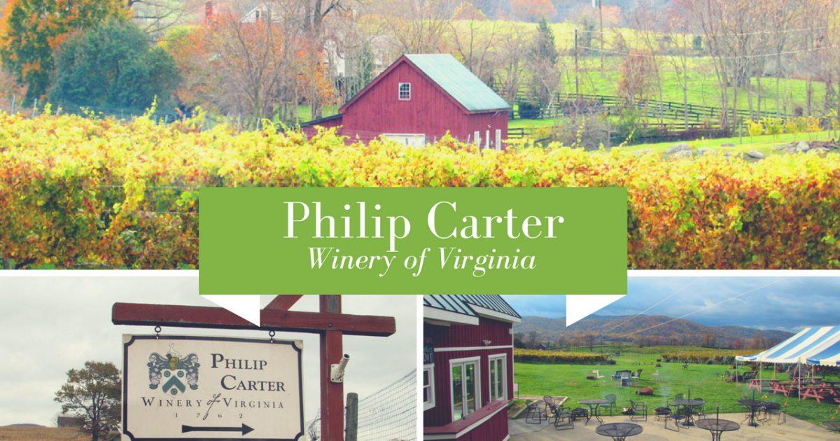 Philip Carter Winery of Virginia PullOverAndLetMeOut