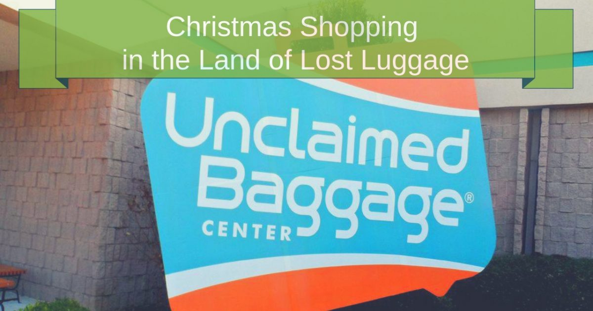 Unclaimed Baggage Center Scottsboro, Alabama PullOverAndLetMeOut