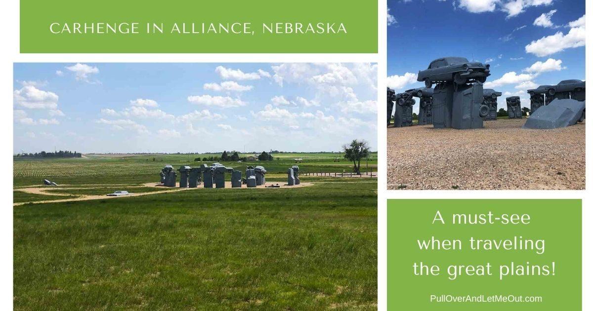 carhenge in alliance, Nebraska PullOverandLetMeOut